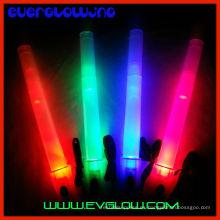 palo de luz led con linterna silbato