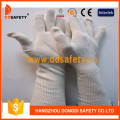 Natural Cotton with Polyester String Knit Glove Dck713