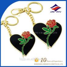 Nach Maß Metall Zink-Legierungs-Herz Keychain