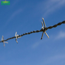 Melindungi Reverse Twist High Tension Military Barbed Wire