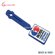 Embossed Soft PVC Rubber Bag Tag