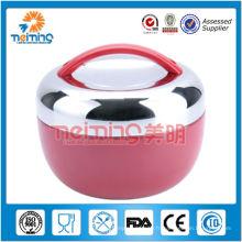 Chauffe-aliments isolés en gros en acier inoxydable avec compartiment