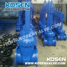 DIN fuelle sellado de válvulas de compuerta (WZ40)