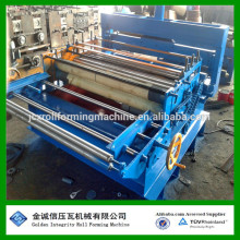 Flatting & cutting machine