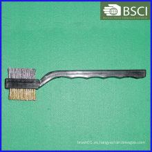 Ib-Wb-001 Cepillo de alambre de doble cabeza