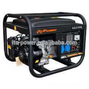 Generador abierto portable de la gasolina de la venta caliente 2.5KW