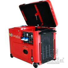 6.5kw Kama tipo monofásico generador diesel portable estupendo silencioso
