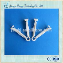 Abrazadera de cordón umbilical de material PP desechable