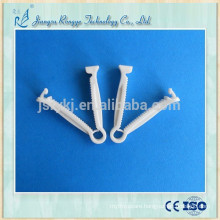 Medical disposable infant umbilical cord clamp ABS material
