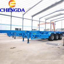 3-Achs 40Ft Skelett-Container-Anhänger