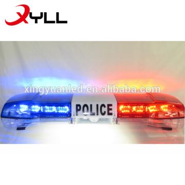 1.2m tamaño completo DC 12V 72W LED de alta potencia Vehículos de tráfico especiales Luz estroboscópica intermitente de emergencia Barra de luces de advertencia