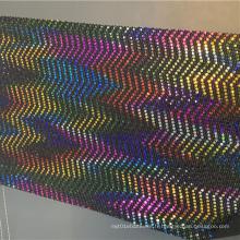Tissu de velours tricoté Fancy Textiles