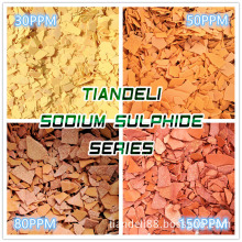 sodium sulphide yellow/red flakes 60%min  hydrosulphide