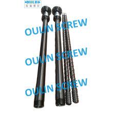 Tornillo y barril para extrusión de laminación de láminas de LDPE