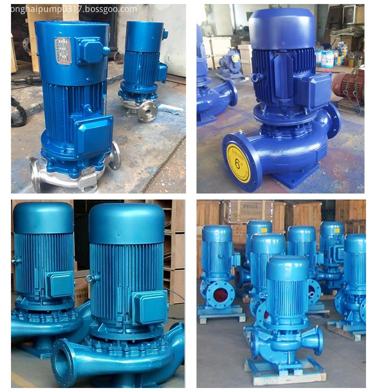 Electric motor driven water pump