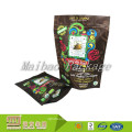 Nahrungsmittelgrad-Verpackenkundenspezifischer 12oz Privataufkleber-Druckstand-wiederverschließbare Reißverschluss-Folie gefütterte Kraftpapier-Kaffee-Tasche mit Ventil