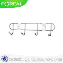 Wall Mounted Metal Plate Clothes Hooks