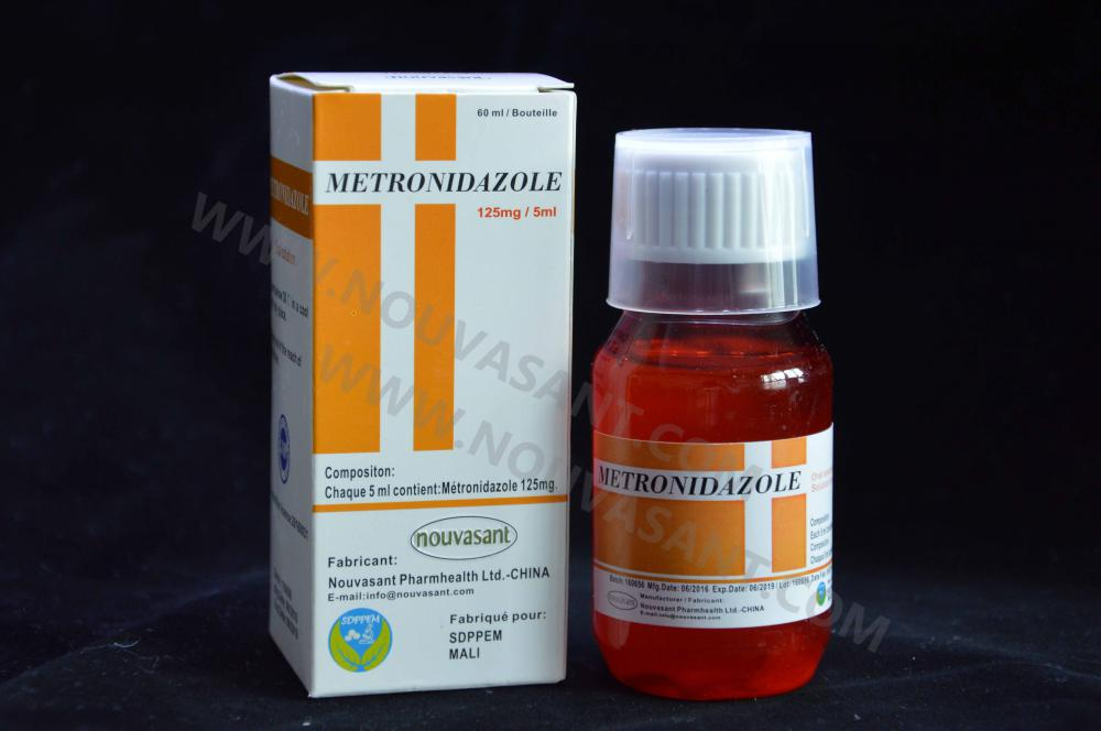 Metronidazole oral suspension 125mg_5ml