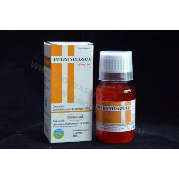 Metronidazole Suspension orale 125 mg / 5 ml