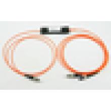 FC a FC SMA 1 * 2 FBT Divisores de fibra óptica, 1x2 Acoplador óptico FBT para FTTH, LAN, PON y CATV óptico