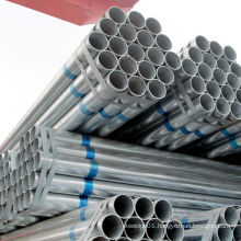 Manufacturer GI welded ERW steel pipe hot dip Galvanized