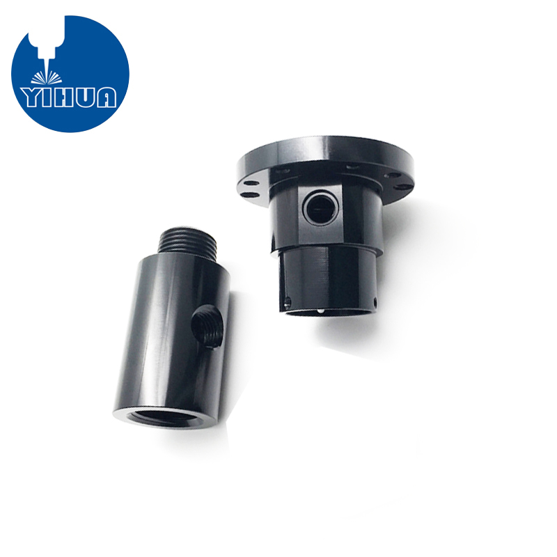 Black Anodized Aluminum Fitting