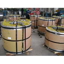 Tira / bobina de aço inoxidável laminada a frio 201 de Foshan