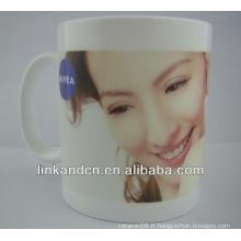 Tasse en céramique standard de 11 oz avec une photo différente