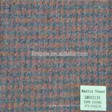 Abrigos de invierno para hombres 100% abrigo de lana estilo Harris tweed men cloth