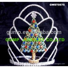 Рождественская ель тиара и корона