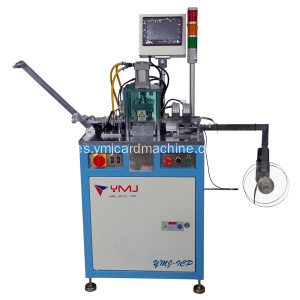 Chips de tarjeta inteligente IC Punching Machine PLC