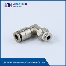 "Raccordi a gomito in Teflon Crush Air-Fluid 1/4 ""."