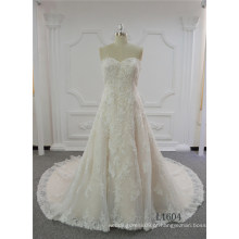 Vestidos de noiva de renda vestido de noiva a linha de vestido de noiva 2017