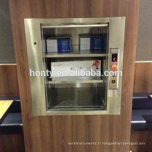 201 ou 304 en acier inoxydable style moderne pas cher prix résidentiel dumbwaiter home ascenseur kit