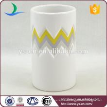 YSb40066-01-t intaglio unverwechselbaren Keramik Badezimmer Zubehör Tumbler