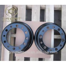 Piezas de equipo de manipulación rueda borde 5.00S-12 para montacargas
