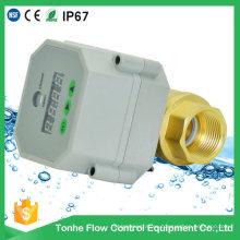 Estructura de bola de latón y válvula de drenaje automático de medios de agua con temporizador