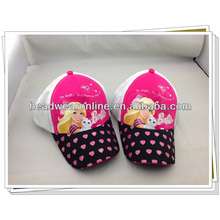 high quality cute colorful kids/hats with apple logo made in Guangdong