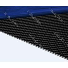 Plaque de fibre de verre de carbone d'OEM / feuille de résistance thermique pour le drone / FPV