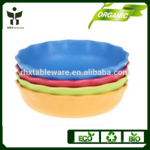 BPA бесплатно большая миска естественной миске биоразлагаемый суп миску