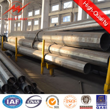 Octogonal 11.8m 500dan Hot DIP Galvanized Pole for Power Transmission