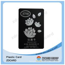 Eco-Friendly Teslin Cartão de Fidelidade / Cartão de Identificação / Mapa