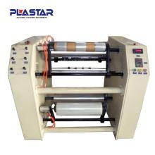 RW-500 aluminium foil manual rewinding and slitting machine (semi-automatic)