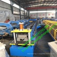 Ligne de production de tuyaux de gouttière