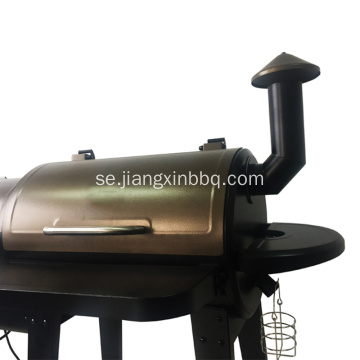 Golden Color Pellet BBQ Grill