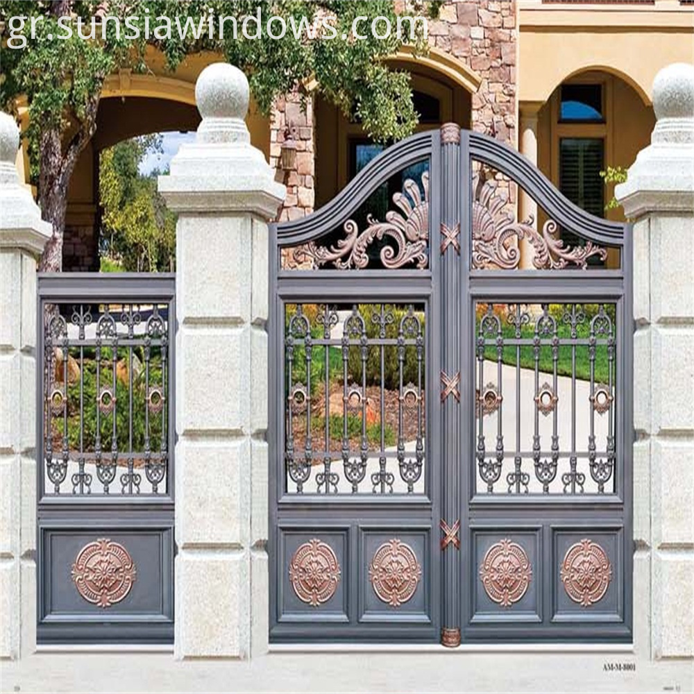 Aluminum Gate Design