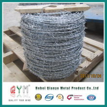 Alambre de púas / alambre de púas galvanizado / alambre de púas de doble filamento