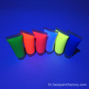 UV และ Neon Face Paint DIY Body Art