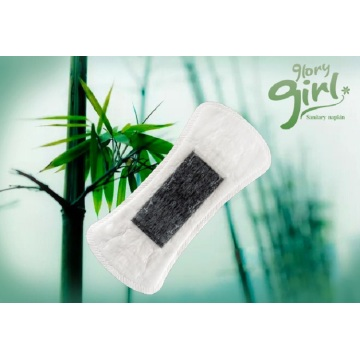 Breathable bamboo panty liners for sensitive skin