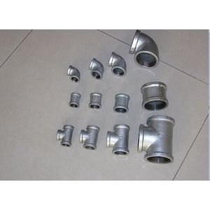 DN 65 Galvanized Malleable Cast Iron Pipe female elbow